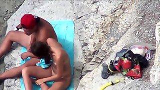 Nude Beach Wankers 9