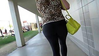 Leopard Skinned Big Booty Strut